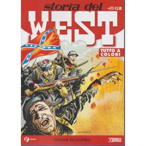 Storia del West - Fiamme di guerra - n. 22 - mensile - gennaio 2021