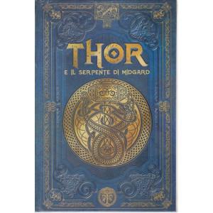 Mitologia Nordica- Thor e il serpente di Midgard  -  n. 29- settimanale - 16/4/2021- copertina rigida