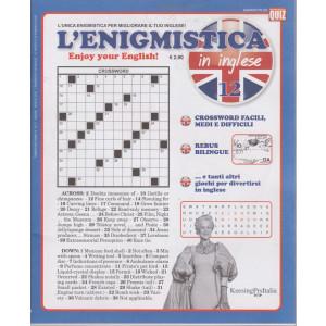 L'enigmistica in inglese - n. 12 - 11/6/2021  - trimestrale