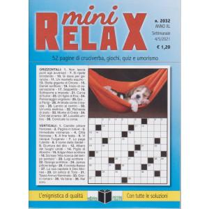 Mini Relax - n. 2032- settimanale -4/5/2021