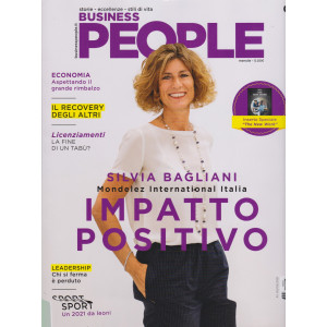 Business People - n. 3 -  - mensile - marzo 2021
