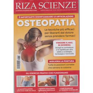 Riza Scienze - n. 376  - Osteopatia  - gennaio - febbraio 2021 - bimestrale