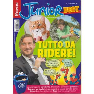 Focus Junior best - Tutto da ridere!-  n. 4 -5/5/2021   2021 - mensile