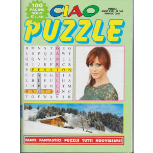 Ciao Puzzle - n. 368 - gennaio 2021 - 100 pagine