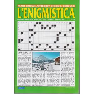 L'enigmistica - n. 125 - bimestrale - gennaio - febbraio 2021