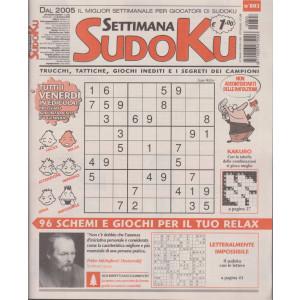 Settimana Sudoku - n. 803 - settimanale -31 dicembre 2020