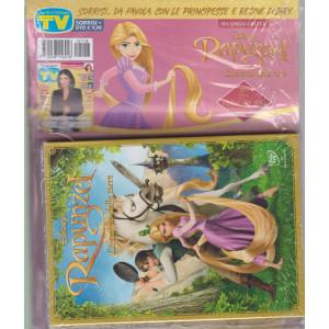 Sorrisi e Canzoni tv + dvd Rapunzel - L'intreccio della torre- seconda  uscita - Sorrisi + dvd