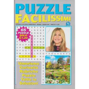 Puzzle Facilissimi - n. 85 - bimestrale - maggio - giugno    2021 - 65 puzzle