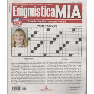 Enigmistica Mia - n. 11 -15 marzo 2021- settimanale