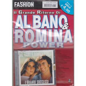 Music Fashion Var.86 -Il grande ritorno di Al Bano & Romina Power  - rivista + cd - I grandi successi