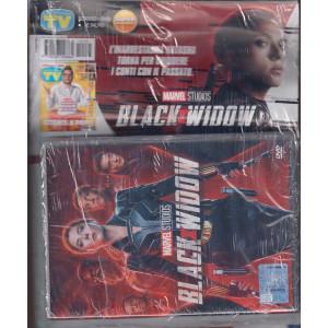 Sorrisi e canzoni tv + il dvd Black x widow- rivista + dvd