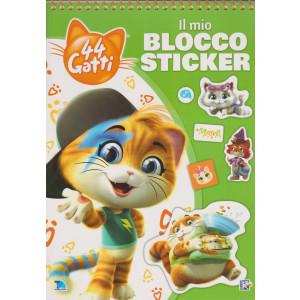 44 Gatti - Il mio blocco sticker - n. 7 - bimestrale - 25/1/2021