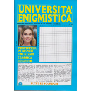 Università enigmistica - n. 119 - bimestrale - febbraio - marzo 2021