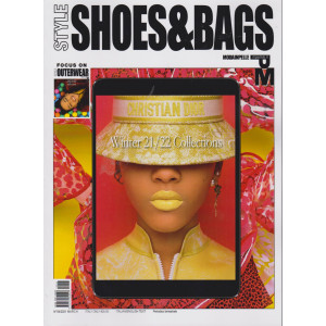 Style Shoes & Bags -Modainpelle  - n. 4 - march 2021 - bimestrale - italian - english text - bimestrale - italian/english text