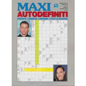 Maxi Autodefiniti - n. 77 - trimestrale -aprile - giugno  2021