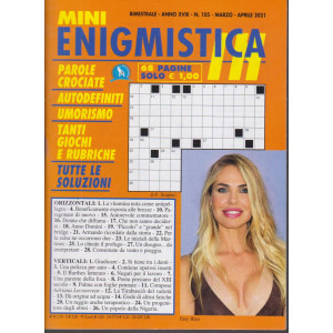 Mini Enigmistica In - n. 105 - bimestrale - marzo - aprile 2021 - 68 pagine
