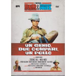 I Dvd di Sorrisi Speciale - n. 24 - I mitici Bud Spencer & Terence Hill  -ventiquattresima   uscita  - Un genio, due compari, un pollo -  giugno 2021  -