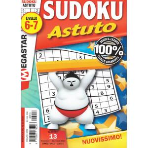 Sudoku Astuto - n. 13 - livello 6-7 - novembre - dicembre 2020 - bimestrale