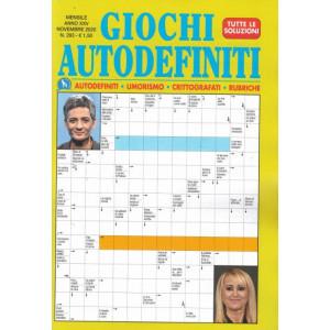 Abbonamento Giochi Autodefiniti (cartaceo  mensile)