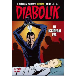 Abbonamento Diabolik (cartaceo  mensile)