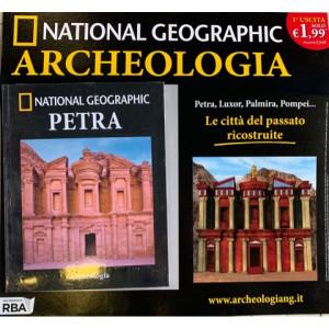 National Geographic ARCHEOLOGIA - 1a uscita PETRA