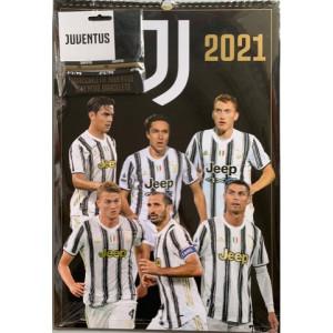 Calendario 2021 JUVENTUS  - cm. 29 x 42 con spirale + Braccialetti
