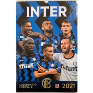 Calendario ufficiale INTER 2021  (verticale) cm. 29 x 42 con spirale