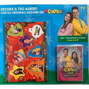 I Dvd di  Sorrisi Collection 3 -  n. 1 Me contro Te DVD + 7 decorazioni natalizie