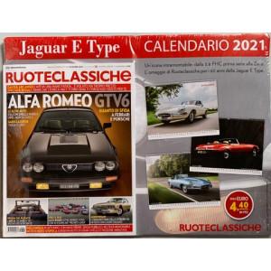 Ruoteclassiche + Calendario 2021 Jaguar e Type - n. 384 - mensile - dicembre 2020