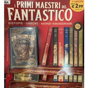 I primi maestri del fantastico - La macchina del tempo - di H. G. Wells - 1a uscita - copertina rigida