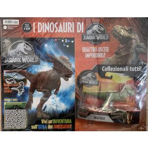I dinosauri di Jurassic World Uscita Nº 2 Aprile 2021 Periodicità: MensileEditore: MATTEL