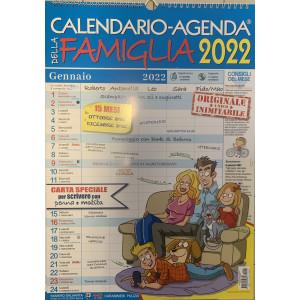 Calendario-Agenda della famiglia 2022 - cm. 30x43 con spirale