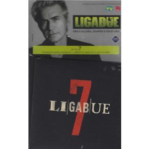 Cd Sorrisi collezione 2 - Ligabue - 7- 23° cd  - Formato digipack + libretto inedito - n. 36 - settimanale - settembre 2021