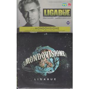 Cd Sorrisi Collezione 2 - n. 30- Ligabue  -17° cd - Mondovisione - agosto 2021  - settimanale - formato maxi digipack + libretto inedto