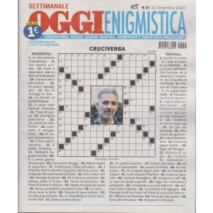 Oggi enigmistica - n. 51 - 22 dicembre 2020 - settimanale