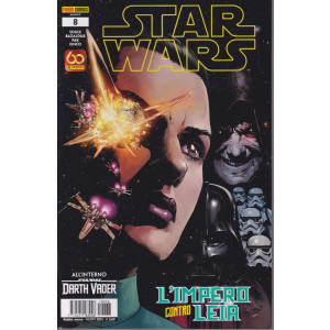 Star Wars - L'impero contro Leia- n. 8 - mensile -14 ottobre 2021