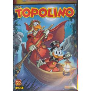 Topolino + Dante Alighieri raccontato da Topolino - n. 3434 - 15 settembre 2021 - settimanale - 2 fumetti