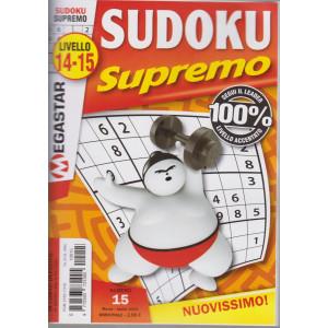 Sudoku Supremo - n. 15 - livello 14-15 - bimestrale- marzo - aprile 2021