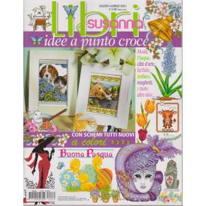 Libri Susanna - Idee a punto croce   - n. 32 -marzo - aprile  2021- bimestrale