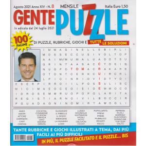 Gente puzzle - n. 8 - agosto  2021 - mensile - 100 pagine