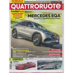 Quattroruote +Il podio dei capolavori   - n. 788 -aprile 2021 - mensile - 2 riviste