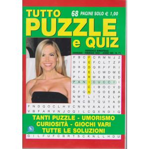 Tutto Puzzle e  Quiz - n. 71 - bimestrale -gennaio - febbraio 2021