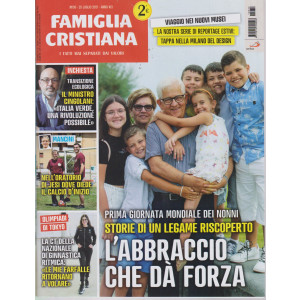 Famiglia Cristiana - n-30   - settimanale- 25 luglio   2021 -