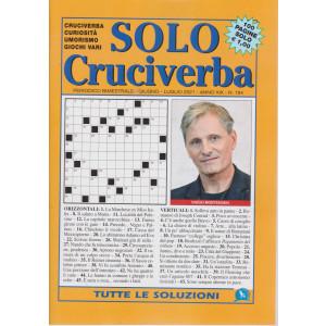 Solo Cruciverba - n. 194 - bimestrale - giugno - luglio 2021 - 100 pagine