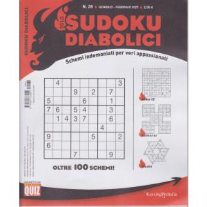 Solo sudoku diabolici - n. 28 - gennaio - febbraio 2021- trimestrale