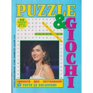 Puzzle  & Giochi - n. 89  - bimestrale - ottobre - novembre  2021 - 68 pagine