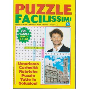 Puzzle Facilissimi - n. 84 - bimestrale - marzo - aprile   2021 - 65 puzzle
