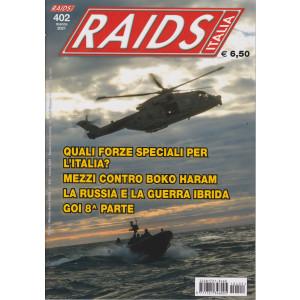 Raids - Italia - n. 402 - marzo 2021 - mensile