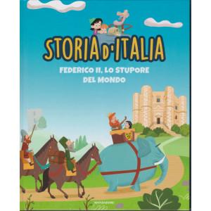 Storia d'Italia -Federico II, lo stupore del mondo - n. 22- 12/1/2021 - settimanale - copertina rigida