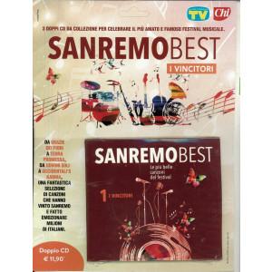 """1° CD Sanremo Best """"I incitori"""" le più belle canzoni del Festival"""